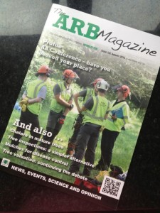 Acme - ArbAC on the front cover of ARB Magazine
