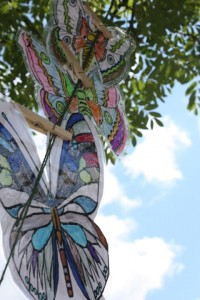 Butterfly tree decorations