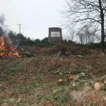 SSSI - Burning on-site