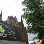 Tree work at Lichfield Cathedral