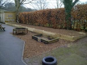 Light landscape area - school