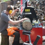 Processing cordwood (Small)