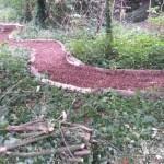 Forest School - meandering pathway