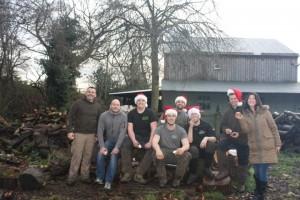 Team Acme at Christmas